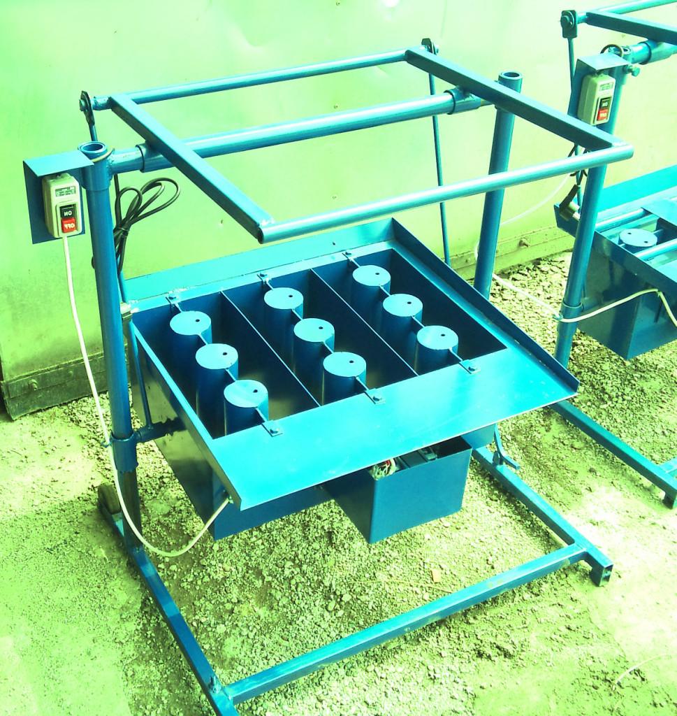 Производство пескоблоков как бизнес: оборудование, станок 52