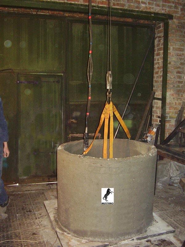 Производство бетонных колец своими руками 42